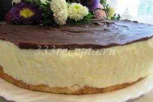 <p>Готовый тортик очень легко вынимается из формы. Этот замечательный десерт порадует Вас и Ваших близких!</p>