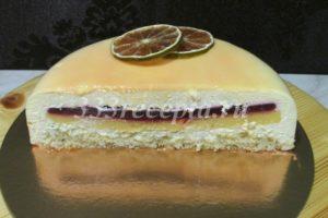 <p>Таким тортик будет в разрезе.</p>