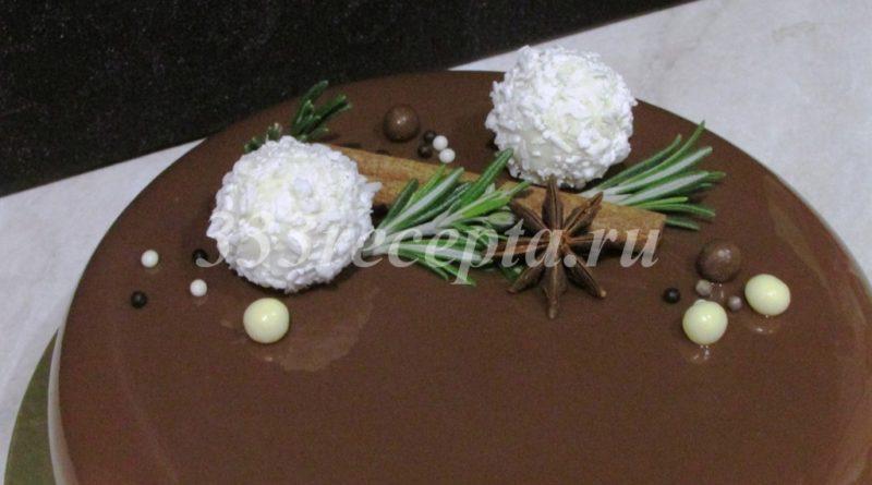 Торт «Шоколадный остров»