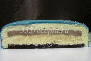 <p>Так тортик выглядит в разрезе.</p>